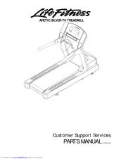 Life Fitness Arctic Silver T9 Manuals