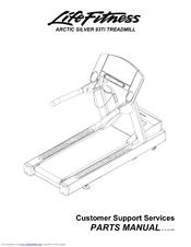 Life Fitness Treadmill 93Ti Manuals