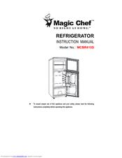 Magic Chef MCBR415S Manuals