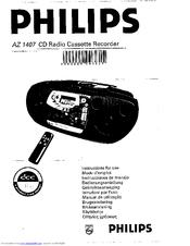 Philips AZ 1407 Manuals