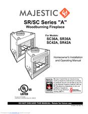 Majestic SR36A Manuals