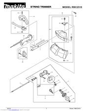 Makita RBC2510 Manuals