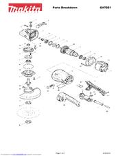 Makita GA7021 Manuals