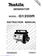 Makita G1200R Manuals