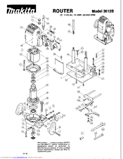 Makita 3612B Manuals