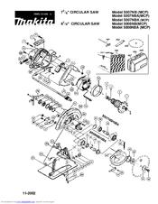 Makita 5007NB Manuals