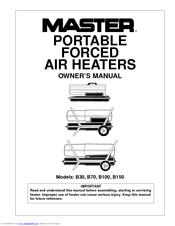 Master B150 Manuals