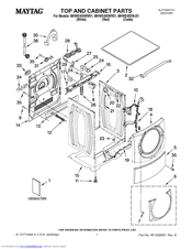 Maytag MHWE450WR01 Manuals