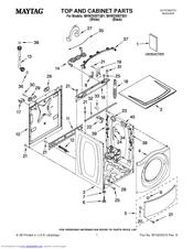 Maytag MHWZ400TQ01 Manuals