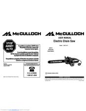 Mcculloch MCC1514 Manuals