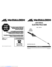 Mcculloch MCP1510 Manuals
