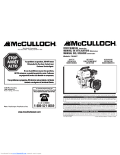 Mcculloch FG300T Manuals