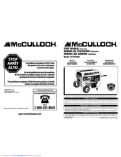 Mcculloch FG7000MA Manuals