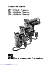 Meade ETX-90EC Manuals