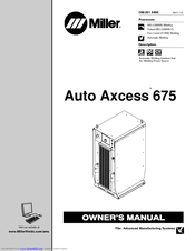 Miller Electric Auto Axcess 675 Manuals