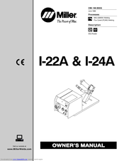 Miller Electric I-22A & I-24A Manuals
