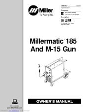 Miller Electric Millermatic 185 Manuals