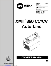 Miller Electric XMT 350 CC/CV Manuals
