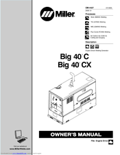 Miller Electric Big 40 C Manuals