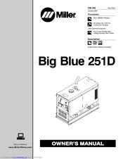 Miller Electric Big Blue 251D Manuals