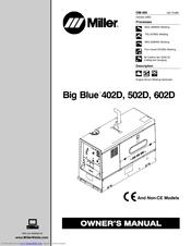 Miller Electric Big Blue 502D Manuals