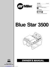 Miller Electric Blue Star 3500 Manuals