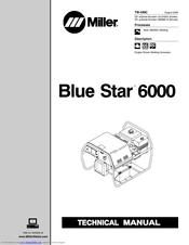 Miller Electric BLUE STAR 6000 TM-499C Manuals