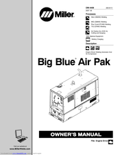 Miller Electric Big Blue Air Pak Manuals