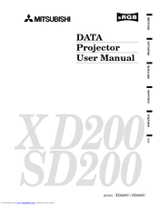 Mitsubishi SD200U Manuals