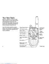 Motorola Talkabout T5200 Manuals