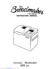 Mr. Coffee BMR 200 Manuals