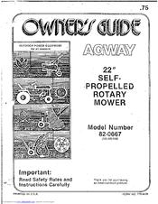 Mtd 82-0667 Manuals