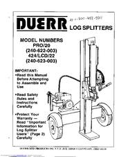 Duerr 240-622-003 Manuals