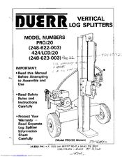 Duerr Duerr 248-622-003 Manuals