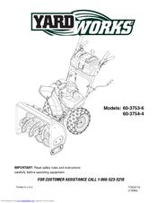 Yard Works 60-3754-4 Manuals