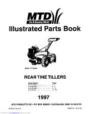 Mtd 21A-410-000 Manuals