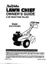 True Value Lawn Chief 21A-410-022 Manuals