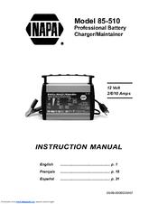 Napa 85-510 Manuals