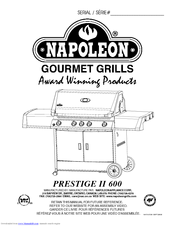 Napoleon PRESTIGE 600RB Manuals