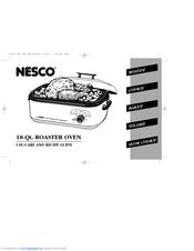 Nesco 18-Qt. ROASTER OVEN Manuals