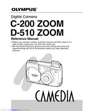 Olympus Camedia D-510 Zoom Manuals