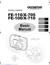 Olympus FE-100 Manuals
