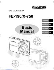 Olympus FE-190 Manuals