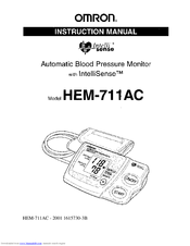 Omron HEM-711AC Manuals