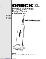 Oreck U2251 Manuals