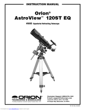 Orion AstroView 120ST EQ Manuals