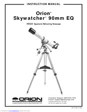 Orion Skywatcher 90mm EQ Manuals