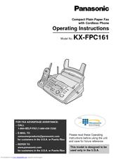 Panasonic KX-FPG175 Manuals