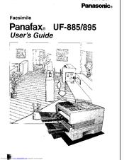 Panasonic Panafax UF-895 Manuals