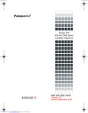 Panasonic 900 MHz Manuals